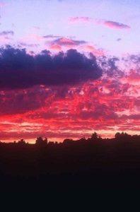 Sky and clouds - photo by Mika Shiraiwa